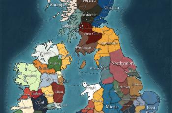 Mapa kampanii Thrones of Britannia ujawniona