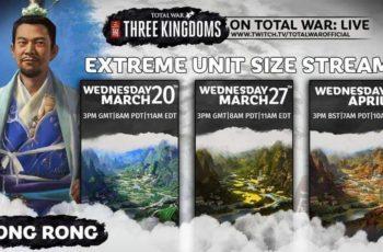 Three Kingdoms – zwiększono rozmiary jednostek