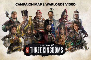 Three Kingdoms – mapa kampanii i pozycje frakcji